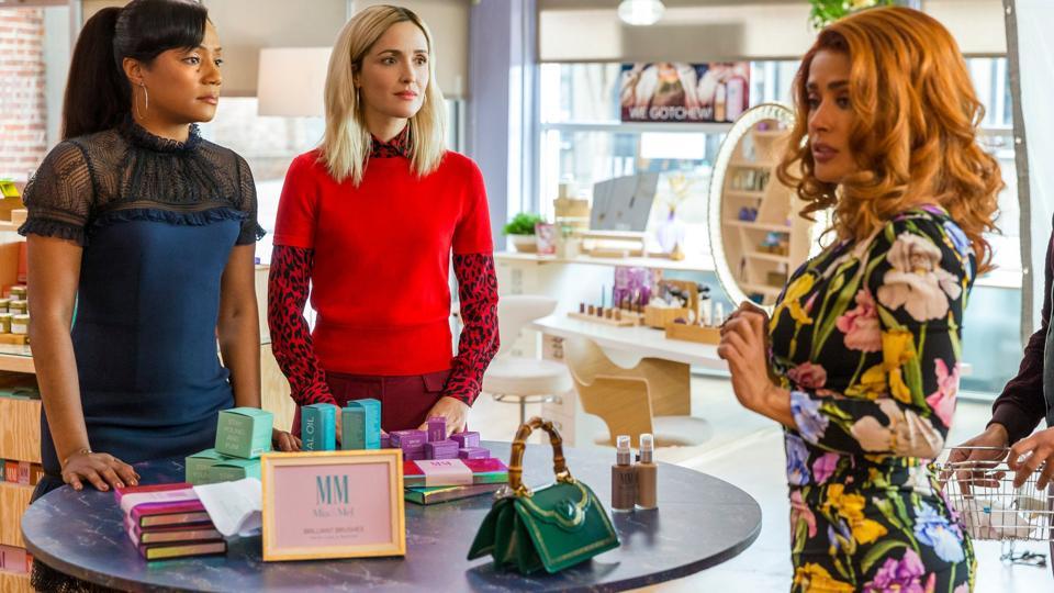 Tiffany Haddish, Rose Byrne and Salma Hayek in 'Like a Boss'