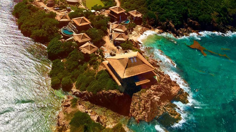L'île Moskito de Richard Branson aux BVI