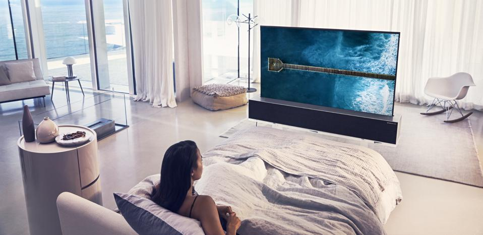 LG OLED TV R rollable television