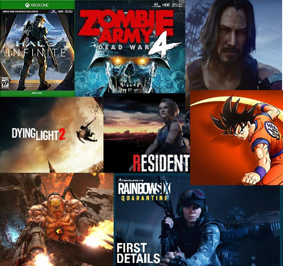 2020 Xbox One games