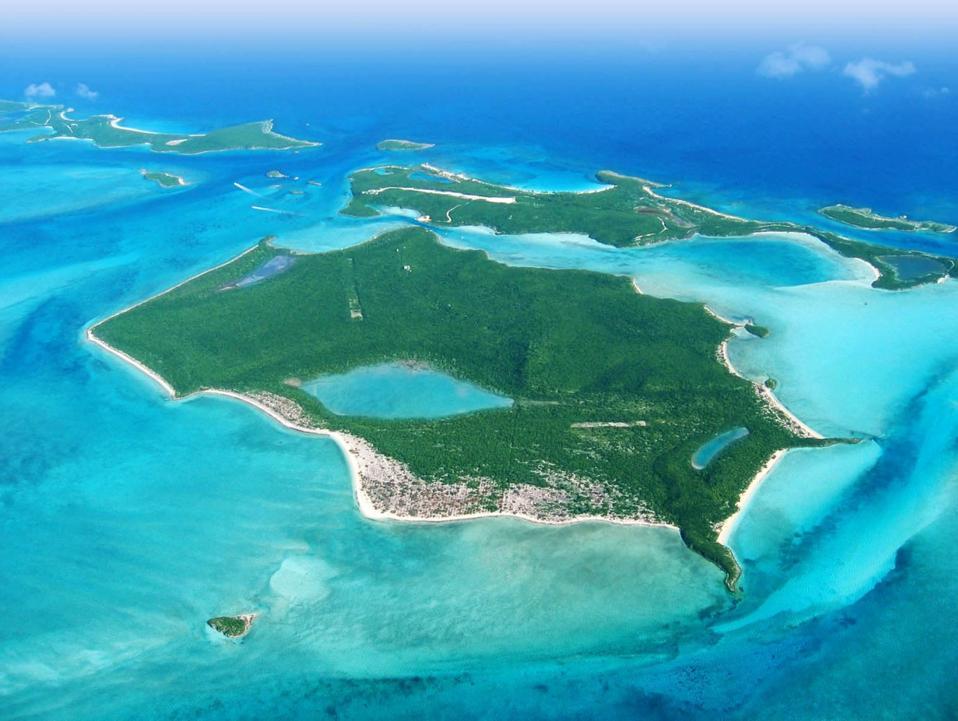 Big Darby Island aux Bahamas