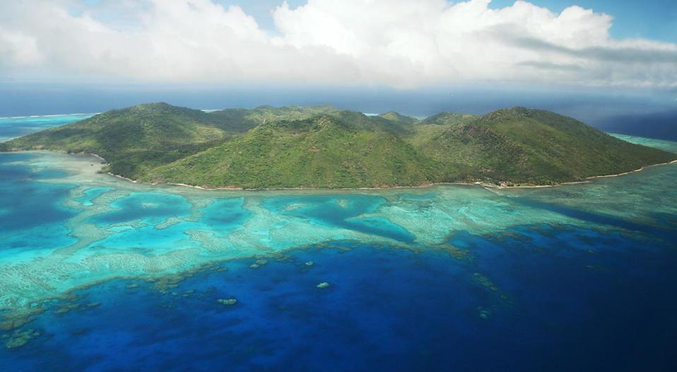 L'île de Kanacea aux Fidji
