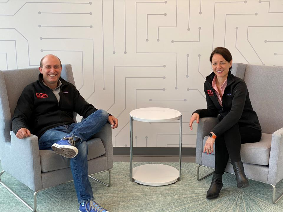 Alexis Borisy and Melanie Nallicheri of new pharma startup EQrx