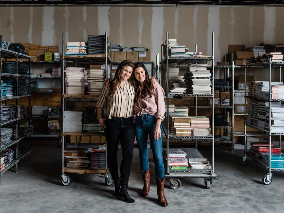 Jess Ewing, CEO & Founder and Kelly Carroll Creative Director & Founder at Litierati