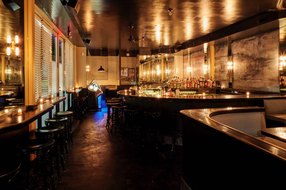 Owned by Sage Geyer, Bar Meridien is a chill corner bar in Prospect Heights.