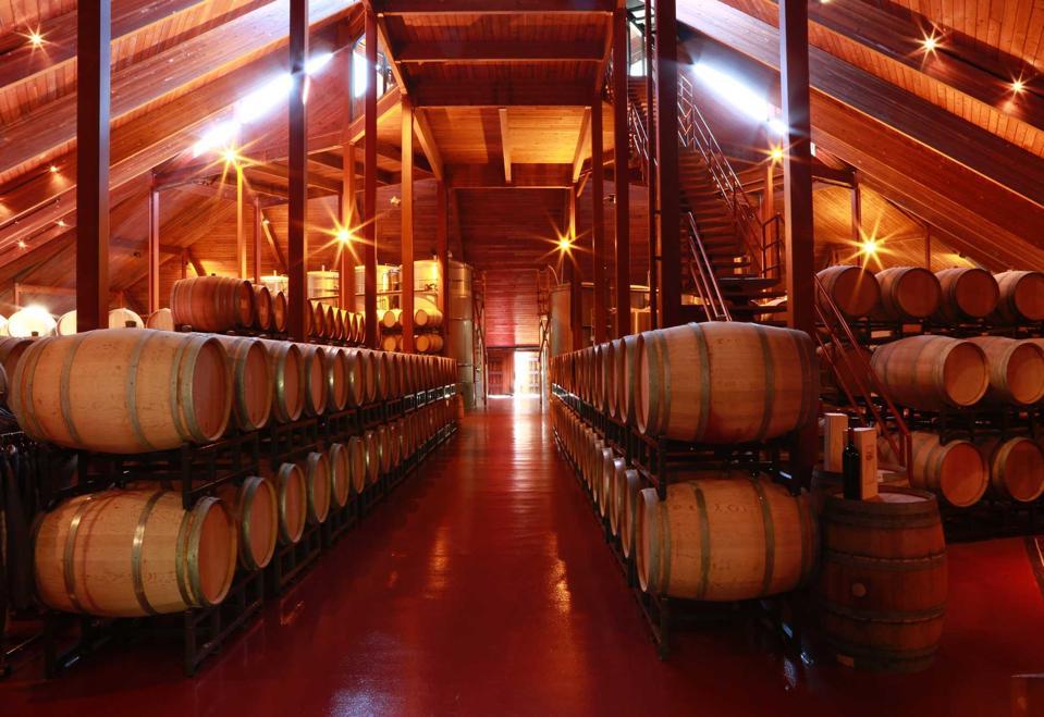 Chappellet Winery Interior