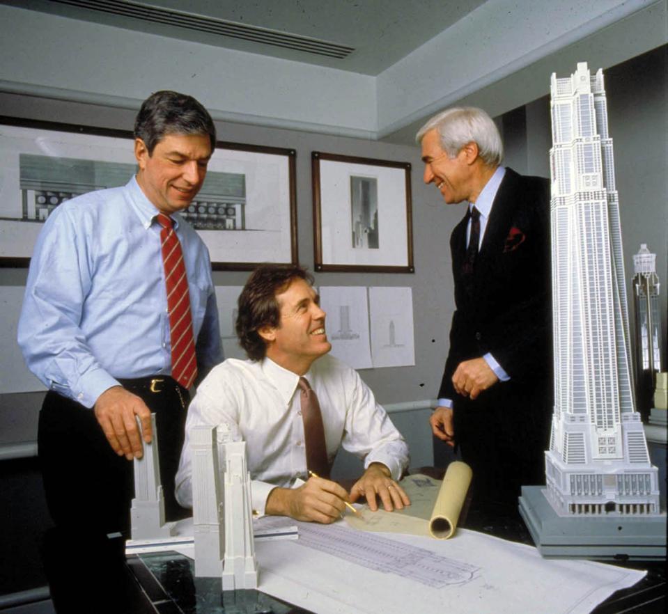 The three founders of Kohn Pedersen Fox