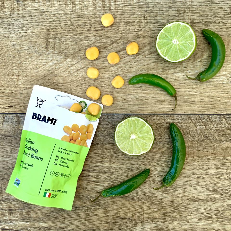 BRAMi, one of the innovative companies that put the lupini bean front and center.