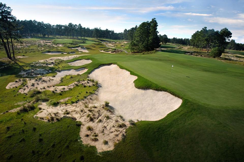 Pinehurst No. 4, sixth hole