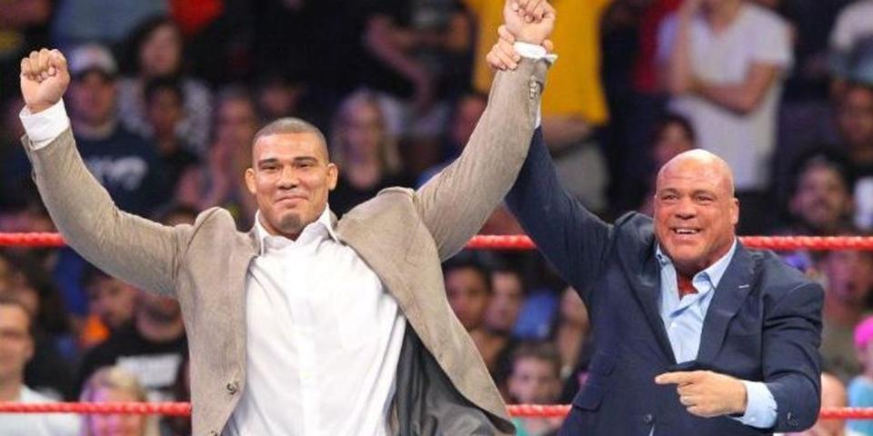 Jason Jordan Kurt Angle WWE Royal Rumble 2020