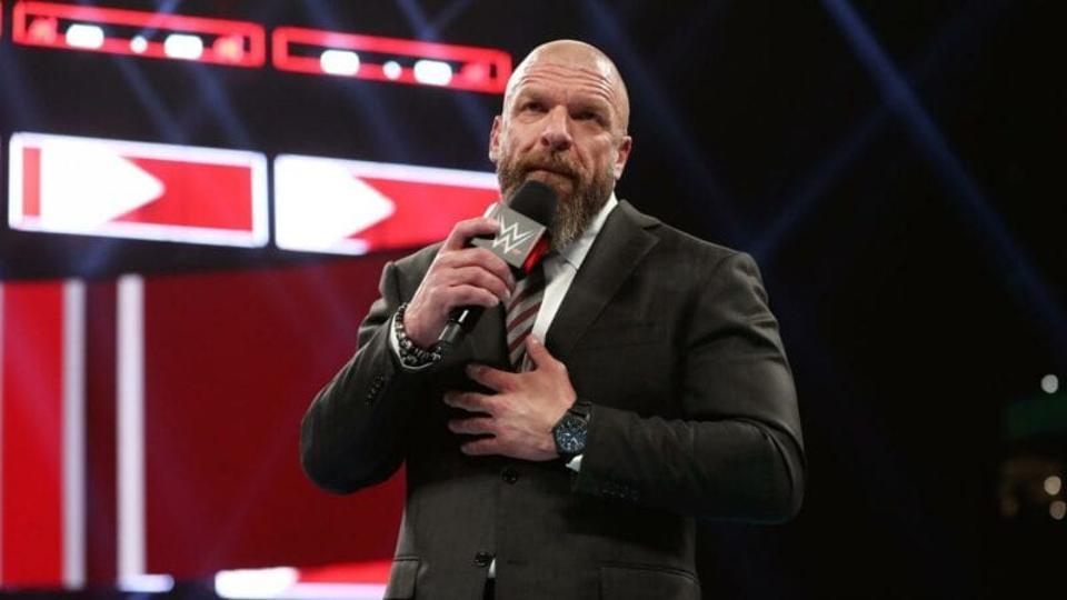 WWE Triple H Paige Raw
