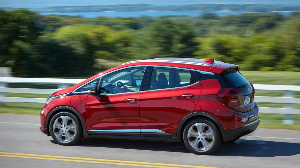 Chevrolet Bolt EV electric car