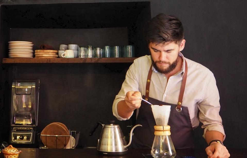 The Ki'bok approach to coffee.