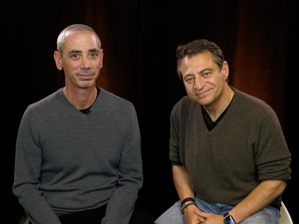 Steven Kotler & Peter Diamandis, authors of The Future is Faster Than You Think