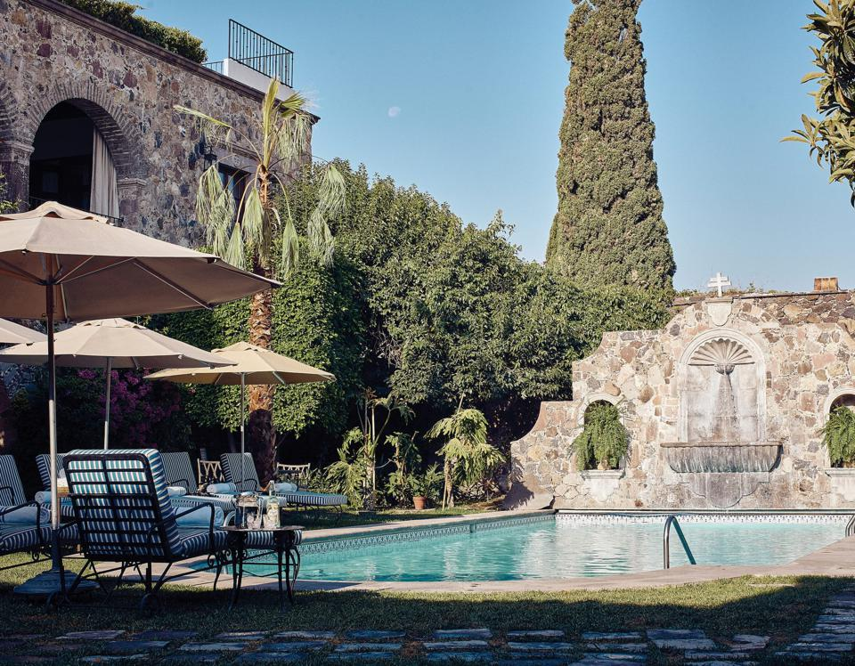The pool at the Belmond Casa de Sierra Nevada