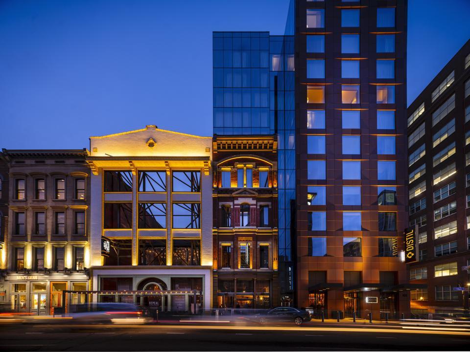 Hotel Distil, Louisville, Kentucky.