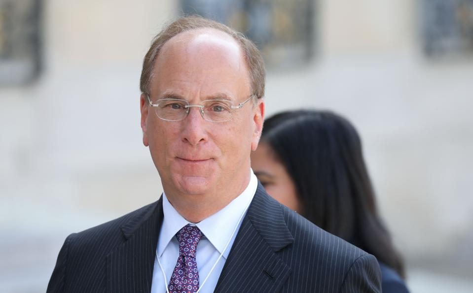 BlackRock chairman and CEO Larry Fink.