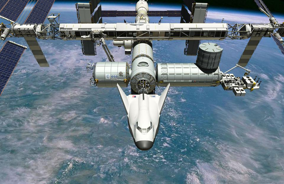 ISS, Space, Dream Chaser