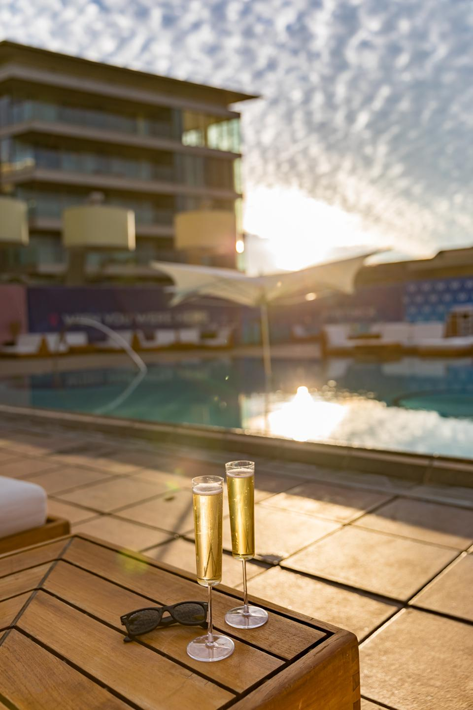 Scottsdale, AZ - View of the pool at the W Scottsdale