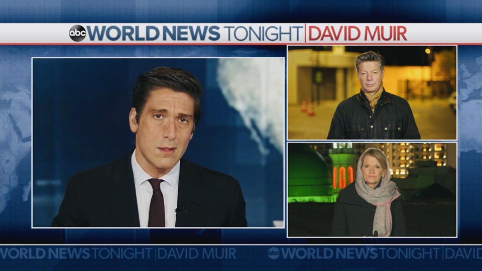 World News Tonight anchor David Muir