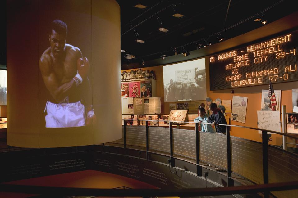 Muhammad Ali Center, Louisville, Kentucky.
