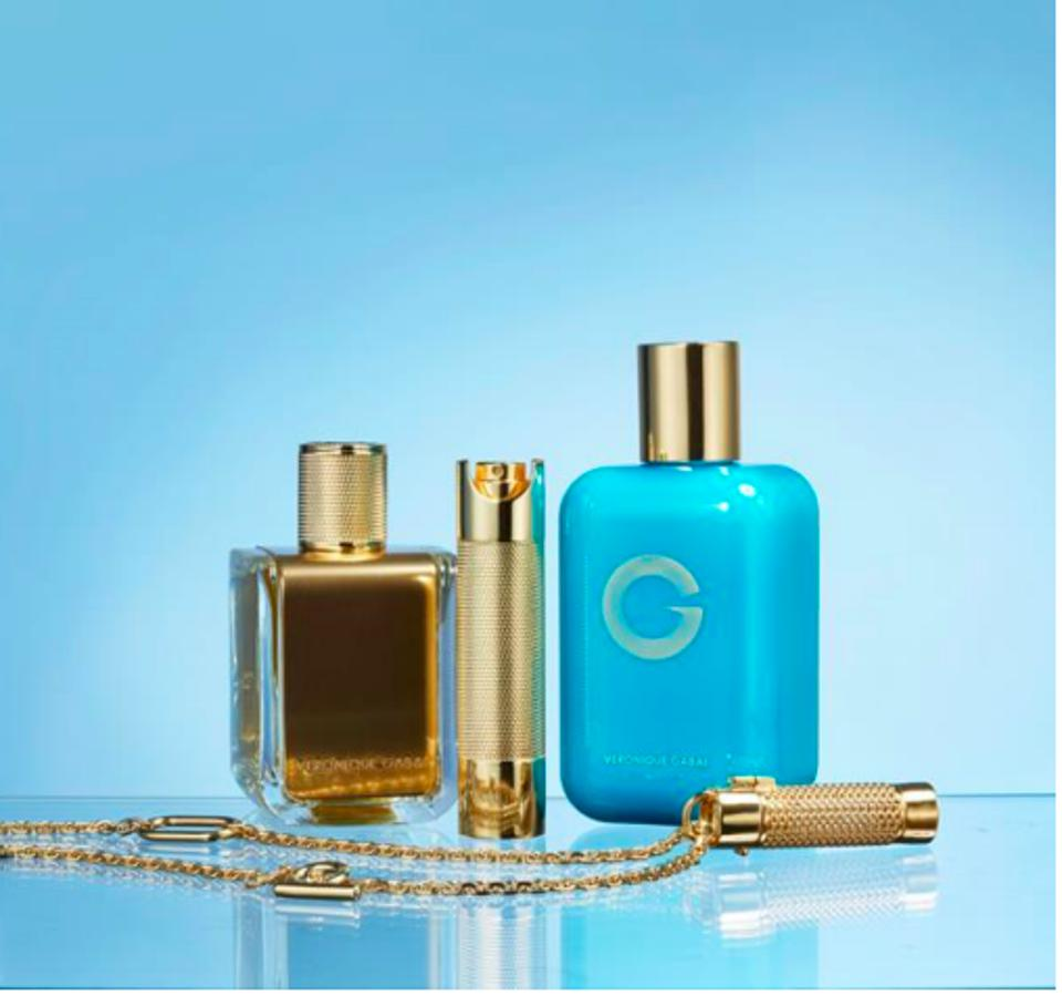 Veronique Gabai fragrance and beauty line.