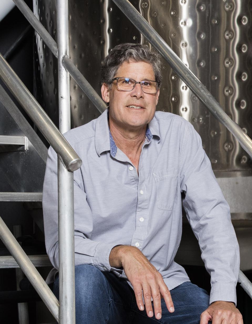 Longtime Chappellet Winemaker, Phillip Corallo-Titus