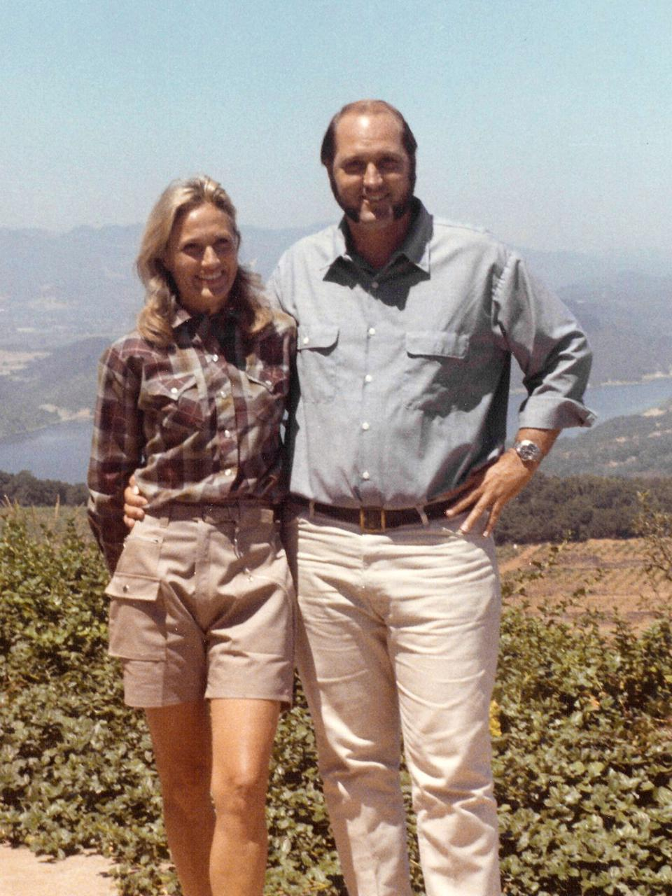 Molly and Donn Chappellet in 1968