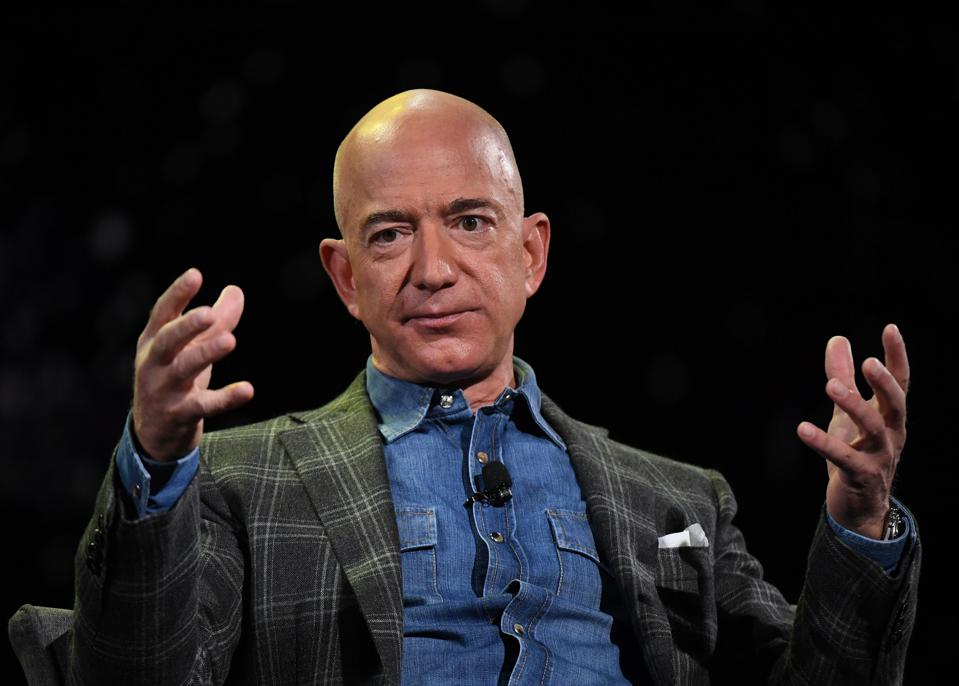 Amazon founder Jeff Bezos.