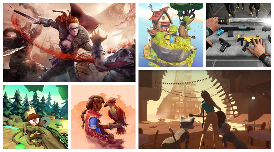 VR games like Asgard's Wrath, The Under Presents, and Boneworks stood out in 2019