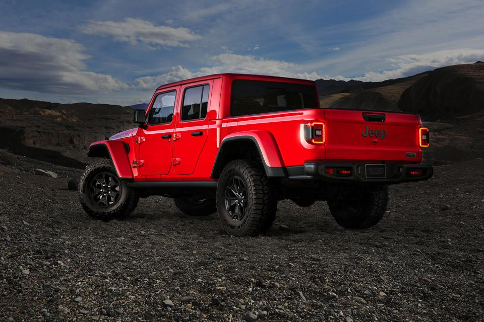 2020 Jeep Gladiator North American Car Truck Of the Year