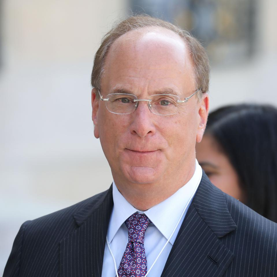 Headshot of Larry Fink
