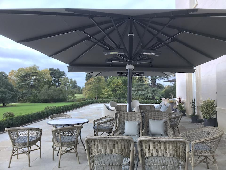terrace at The Langley