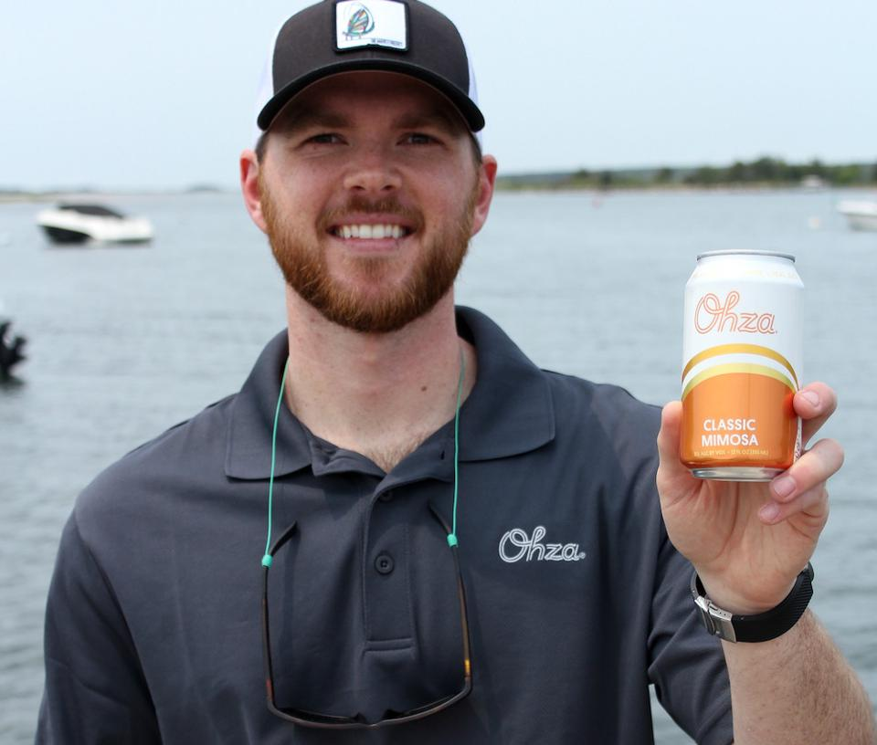 Ryan Ayotte, founder of Ohza Mimosa