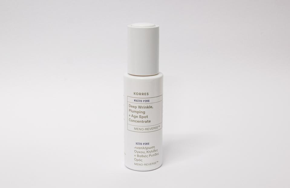 KORRES White Pine Meno-Reverse Deep Wrinkle Plumping + Age Spot Concentrate