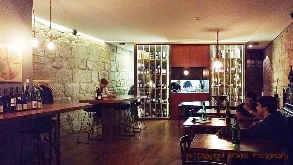 The Prova wine bar i Porto
