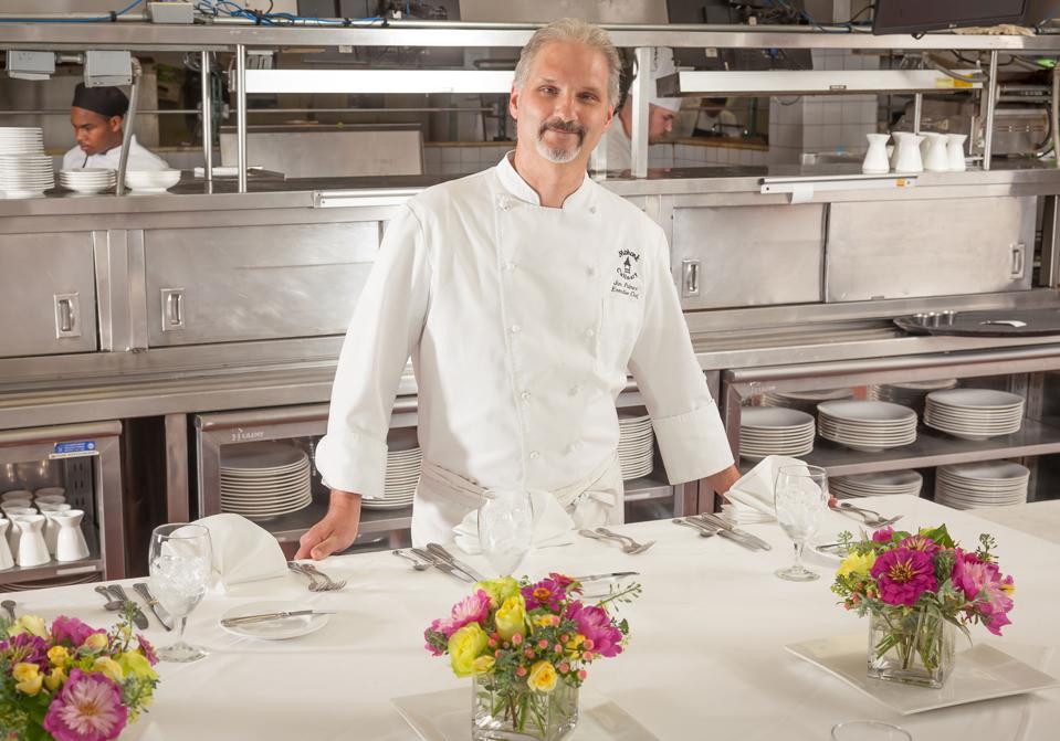 Chef Jim Palmeri heads a team of highly skilled chefs.