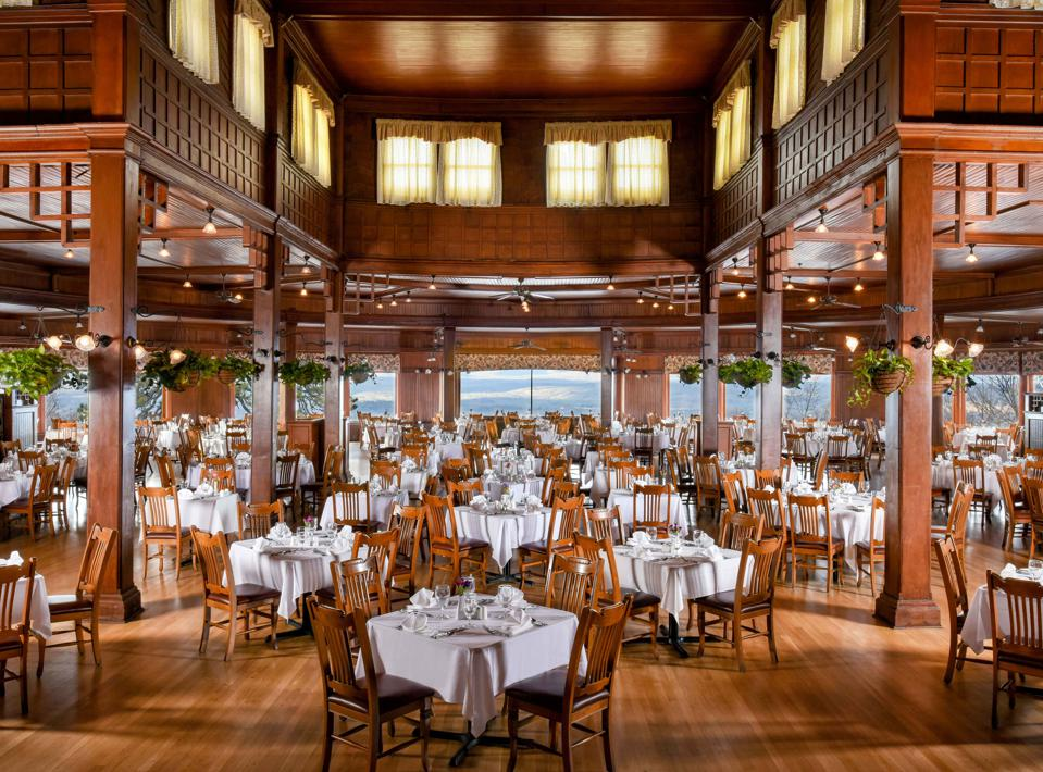The historic Main Dining Room features scrumptious culinary options.