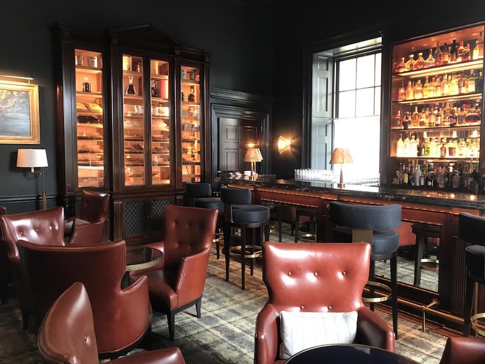 bar at The Langley