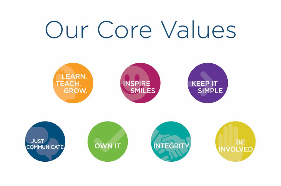 Five Ways To Leverage Your Core Values And Improve Your Business