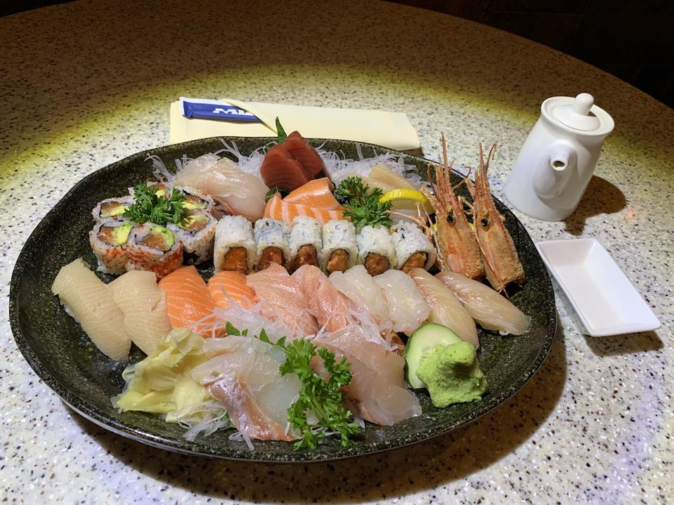 New York's Mizu Offers Exciting Sushi And Japanese Food At Very Reasonable Prices