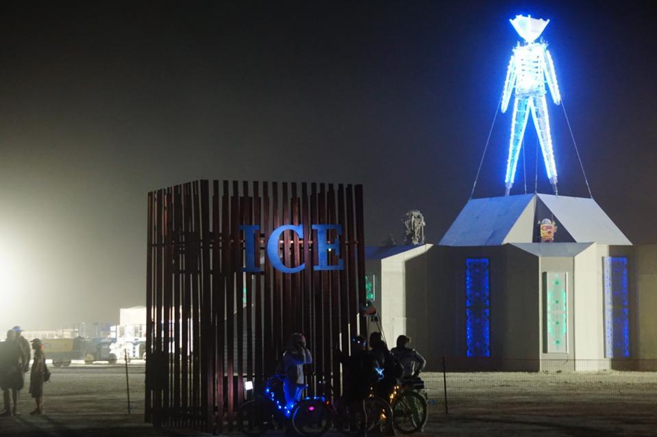 Installation at Burning Man, 2019.