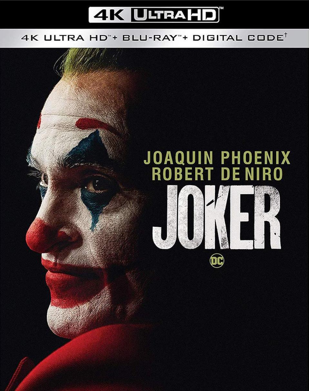 Joker 4K Blu-ray Cover Art US