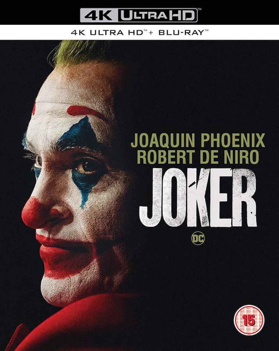 Joker's UK 4K Blu-ray cover art