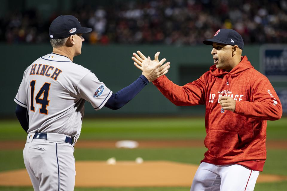 League Championship Series - Houston Astros v Boston Red Sox - Game One (G)