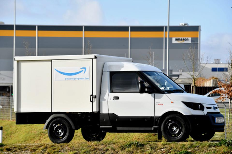 Amazon Inches Toward Carbon Neutrality Goal With StreetScooter Electric Truck Partnership