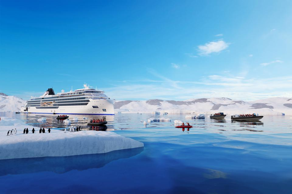 Artist rendering of the new Viking expedition ships