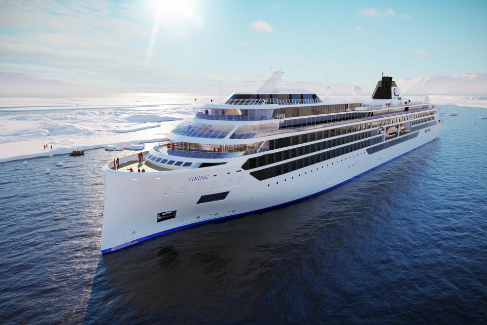 Another artist rendering of a new Viking expedition ship