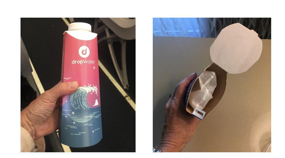 compostable bottles water bottled vending mattson innovation trends