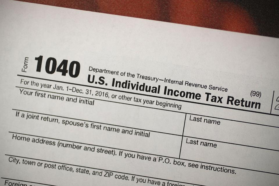 To complete your 1040 tax form, you will need the 1099 forms first.
